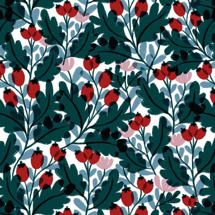 Red rosaceae